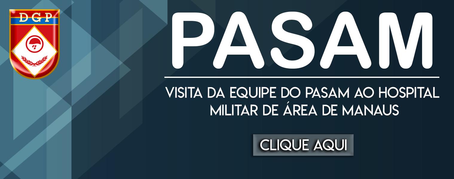 Visita da equipe do PASAM ao Hospital Militar de Área de Manaus