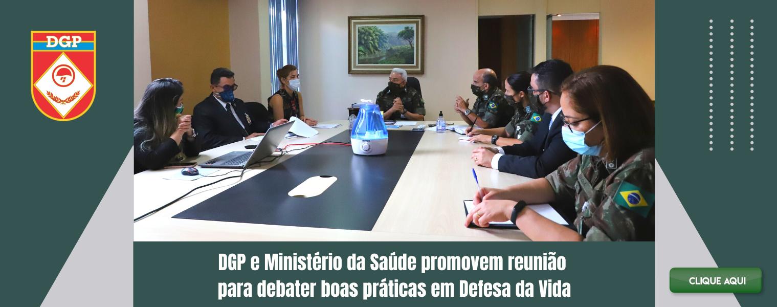 DGP e Ministério da Saúde promovem reunião para debater boas práticas em Defesa da Vida