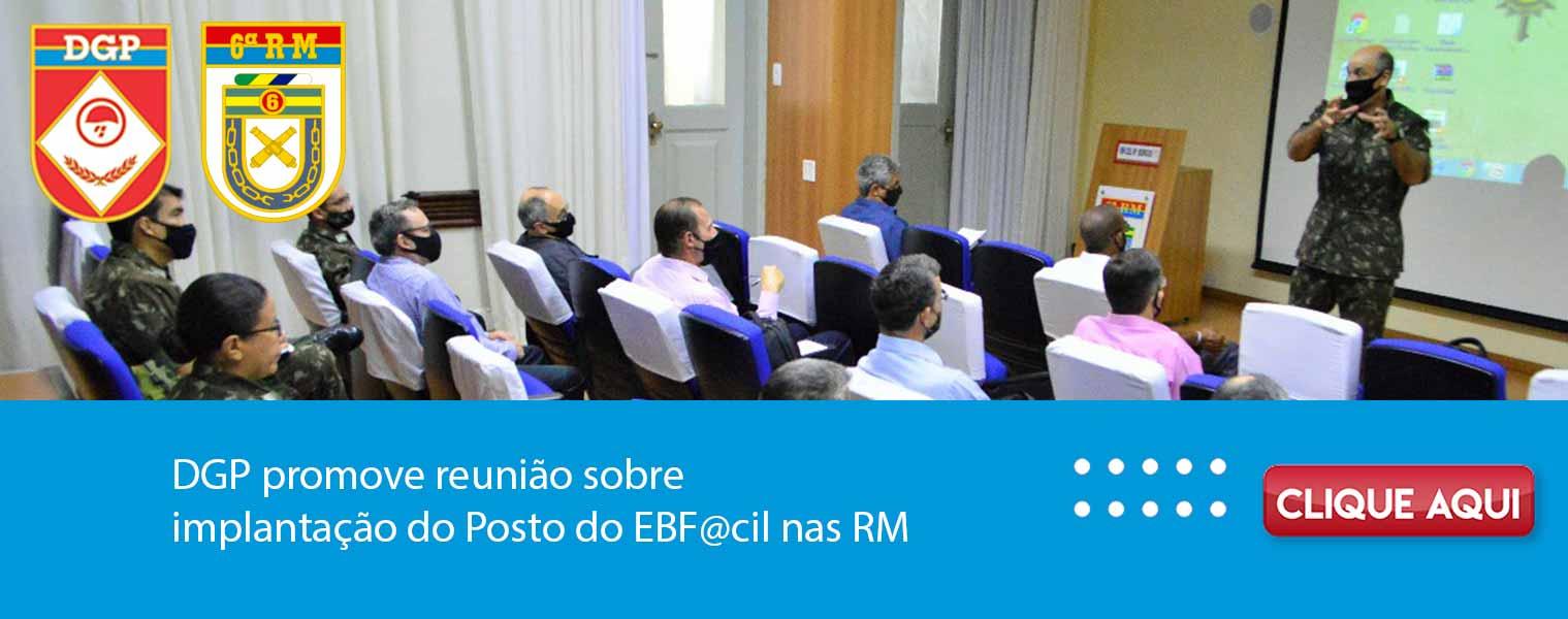 DGP promove reunião sobre implantação do Posto do EBF@cil nas RM