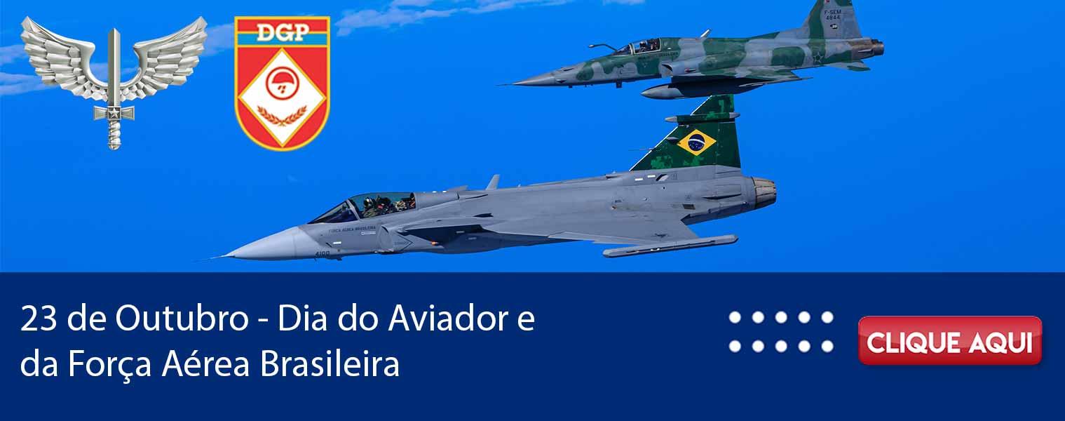 23 DE OUTUBRO - DIA DO AVIADOR E DA FORÇA AÉREA BRASILEIRA