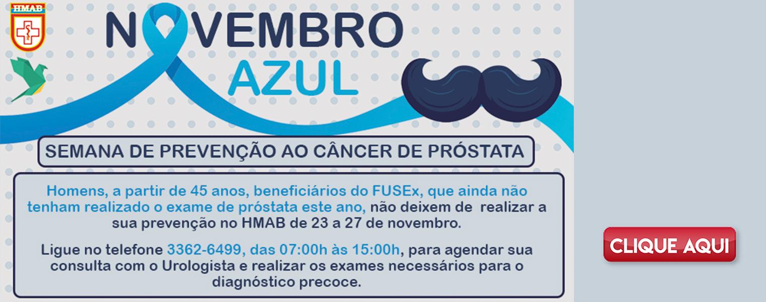HMAB promove Semana de Prevenção ao Câncer de Próstata
