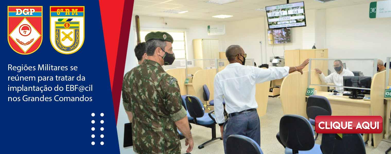 Regiões Militares se reúnem para tratar da implantação do EBF@cil nos Grandes Comandos